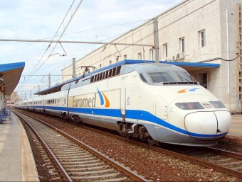 Unitat d'Euromed entre València i Barcelona. Foto:EL PUNT AVUI