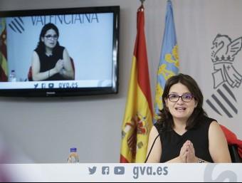 La vicepresidenta del Consell, Mónica Oltra. Foto:ARXIU