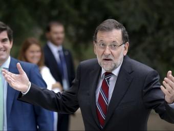Mariano Rajoy, a la Moncloa Foto:REUTERS