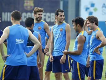 Calendari del Barça entre aturades Foto:L'ESPORTIU