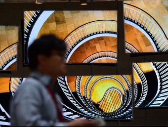 S2Un visitant de la IFA, la fira més important de tecnologia a nivell europeu Foto:AFP