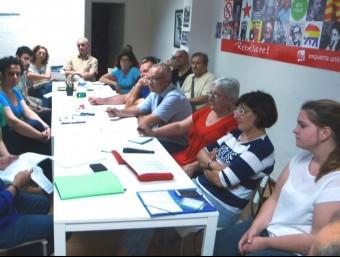 Reunió de la Comissió Coordinadora de Guanyant Torrent. Foto:ESCORCOLL