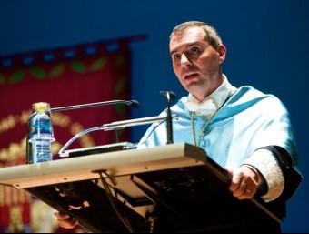 Jorge Olcina en l'obertura d'un curs acadèmic. Foto:EL PUNT AVUI