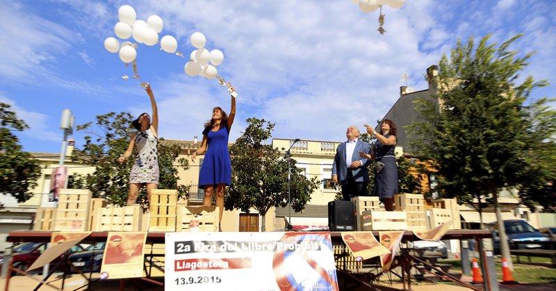 Imatge d'un moment de l'obertura de la fira.