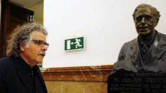 El diputat d'ERC Joan Tardà, aquest dimecres al Congrés dels Diputats Foto:EFE