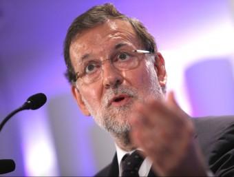 Les manifestacions de Rajoy sobre Catalunya han generat dubtes sobre la seva credibilitat i competència.  Foto:ARXIU