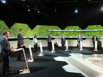 El debat de La Sexta Foto:EMÈS DISSABTE PASSAT VA TENIR 266.000 ESPECTADORS (11,2%) LA SEXTA