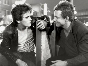 Matt Dillon and Mickey Rourke, in Rumble Fish