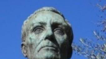 Bust de Guillem Graell, al passeig de Sant Joan de Barcelona Foto:ARXIU