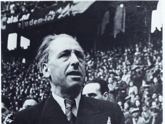 El president Lluís Companys, afusellat el 1940 Foto:EPA