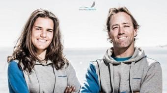 Marina López i Iker Martínez es van classificar novens de la classe Nacra 17 en el mundial d'Aarhus, a Dinamarca Foto:FCN