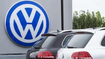 El logo de Volkswagen, en un concessionari de Woodbridge, a Virgínia del Nord (EUA) Foto:P.J. RICHARDS / AP