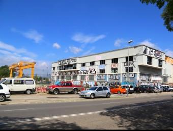 Part de la parcel·la del sector sud de la ciutat on es construirà al nova Clínica Girona, a tocar de la carretera de Barcelona. Foto:MANEL LLADÓ