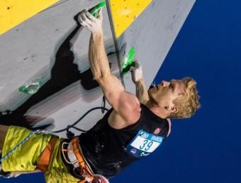Un escalador, en una prova recent de la copa del món Foto:IFSC