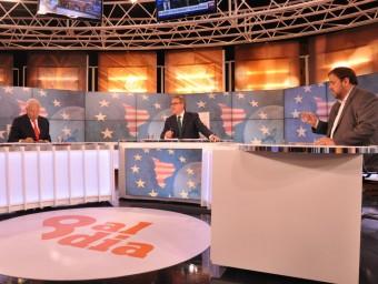 El ministre Margallo, al debat amb Junqueras, va afirmar que estimava Catalunya Foto:EPA