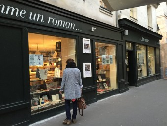 La llibreria Comme un roman... del tercer districte de Parísv.gaillard