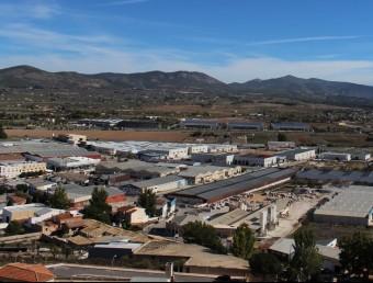 Polígon industrial de la vila d'Ibi. Foto:B. SILVESTRE