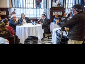 El debat al 7 Portes, moderat per Eduard Berraondo
