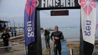 Héctor Ruiz quan va acabar els 5,5 km Foto:GEN ROSES