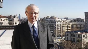 Miquel Valls, president de la Cambra de Comerç de Barcelona, en una fotografia de l'any passat Foto:ORIOL DURAN / ARXIU