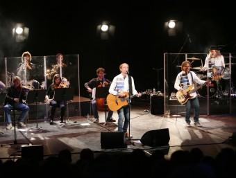 Un moment del concert d'ahir. Foto:M. LLADÓ