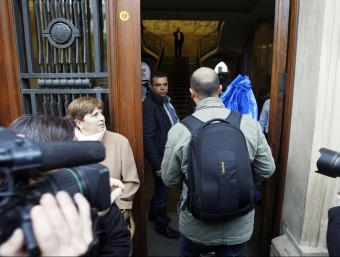 Imatge d'arxiu del 27 de novembre de 2012, quan va esclatar el cas Foto:ORIOL DURAN