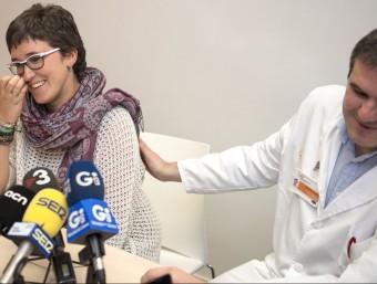 Rodríguez explicant la seva experiència. Foto:G.SÁNCHEZ/ICONNA