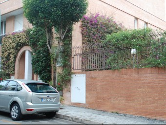 Els murs per on accedirien els lladres, que donen accés a la zona comunitària Foto:INFOCAMP