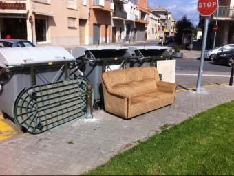 Una de les imatges que veïns i entitats de Figueres difonen a les xarxes socials per reclamar actuacions a l'Ajuntament Foto:EPA