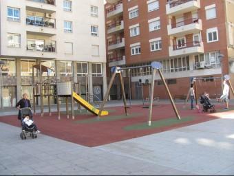 La reforma de la plaça Pallach impermeabilitzarà el terra i refarà el mobiliari Foto:D.V