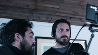 El director Pablo Larraín durant el rodatge d''El club' Foto:CARAMEL FILMS