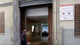 La seu del Consell Comarcal del Barcelonès, es troba situada al carrer de les Tàpies del barri del Raval Foto:ORIOL DURAN
