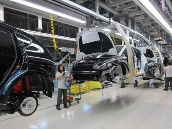 Línia de producció, a la planta de Seat, a Martorell ep