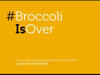 Una de les postals de la campanya '#TrencaElSilenci' Foto:OBERTAMENT