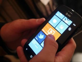 L'acusat va descarregar un fitxer del telèfon mòbil de la seva parella, el desembre passat Foto:AFP