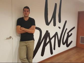 Roger Gutiérrez és un dels quatre socis fundadors d'U!Dance.  Foto:L'ECONÒMIC