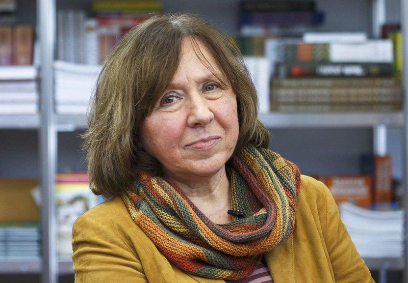 Imatge de l'escriptora bielorussa Svetlana Aleksiévitx, guanyadora del Premi Nobel 2015, que estarà a la fira Literal.