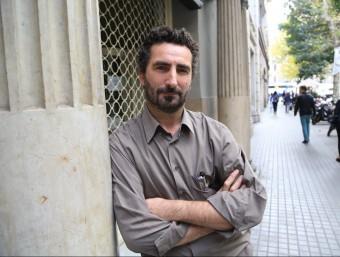 Pau Vidal va presentar el seu últim llibre dimarts passat a Barcelona. Foto:ANDREU PUIG