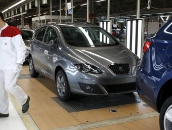 L'amenaça de perdre la inversió anunciada pel grup Volkswagen a la Seat s'ha diluït segons les paraules de Felip Puig i del ministre Soria.