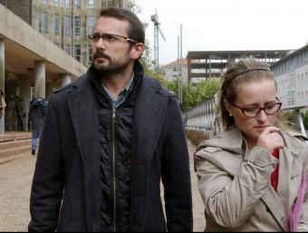 Els pares d'Andrea van explicar el seu cas als mitjans per reivindicar una mort digne per a la seva filla Foto:EFE