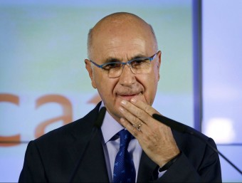 Duran i Lleida, durant la roda de premsa on va valorar les eleccions Foto:EFE