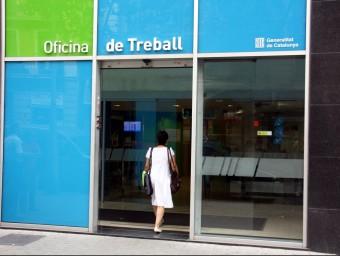 L'EPA del tercer trimestre deixa la taxa de desocupació en el 17,5% a Catalunya.  Foto:ARXIU