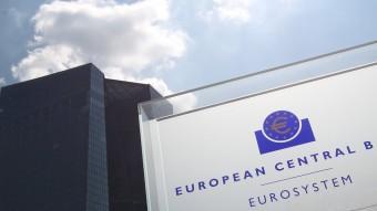 Seu del Banc Central Europeu, a Frankfurt Foto:DANIEL ROLAND / AFP