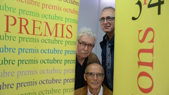 Els guanyadors de la passada edició dels Premis Octubre. Foto:EL PUNT AVUI