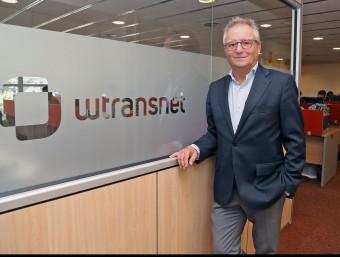 Josep Maria Sallés és el gerent de Wtransnet.  Foto:JOSEP LOSADA