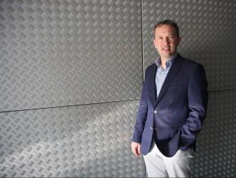 Oleg Morajko és soci fundador i director tecnològic.  Foto:FRANCESC MUÑOZ