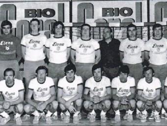 La plantilla del BM Granollers de la temporada 1969-70.  Foto:BM GRANOLLERS