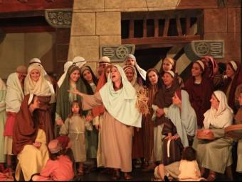 Una escena de les representacions dels Pastorets de la Sala Cabanyes. Foto:CLARA DE RAMON