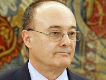 Luis M. Linde, governador del Banc d'Espanya Foto:APF