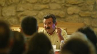 L'escriptor tarragoní Jordi Tiñena va rebre ahir al vespre el quinzè premi a la creació Foto:ARXIU